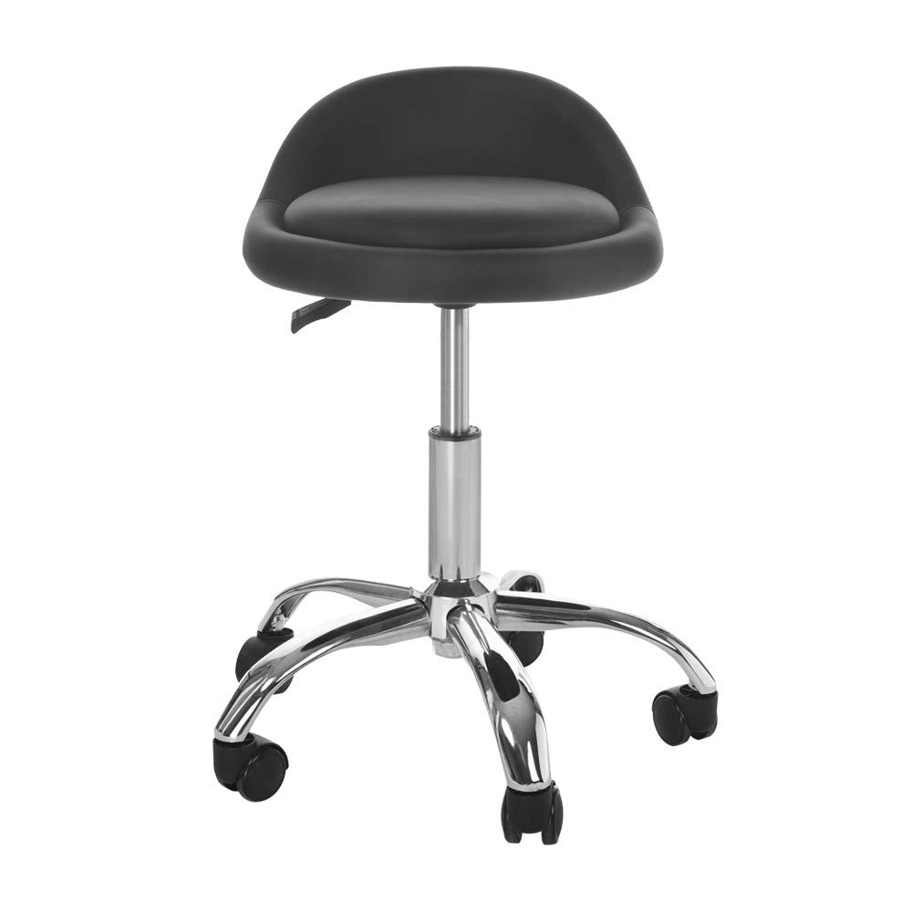 Sonmer Practical Hydraulic Lift Chair, For Office Work Beauty Salon-Black