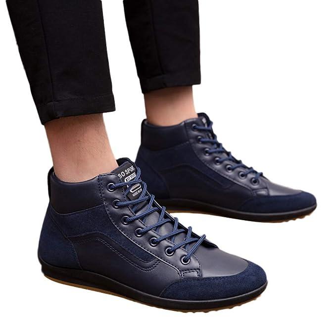 Bestow Cuatro Temporadas para Hombres para Ayudar a los Zapatos Casuales, Zapatos Retro para Hombres.: Amazon.es: Ropa y accesorios
