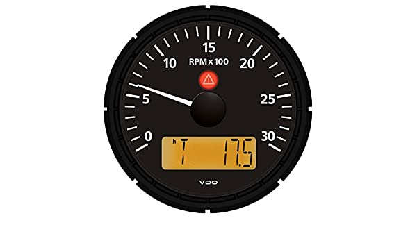 VDO Viewline Onyx 3,000 RPM 3-3/8
