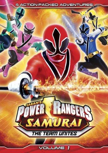 Power Rangers Samurai: The Team Unites (Volume One) by Lionsgate (Power Rangers Samurai The Team Unites Vol 1)