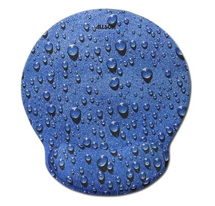 Allsop 28822 Mouse Pad Pro Memory Foam Mouse Pad (Raindrop Blue) Desk Accessories