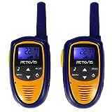 Image of Retevis RT31 Mini Kids Walkie Talkies 22CH 0.5W FRS VOX LCD Display(Purple,1 Pair)