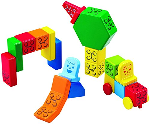 People Blocks Solid Colors Toy