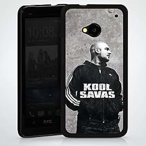 Carcasa Design Funda para HTC One M7 HardCase black - Kool Savas Aura