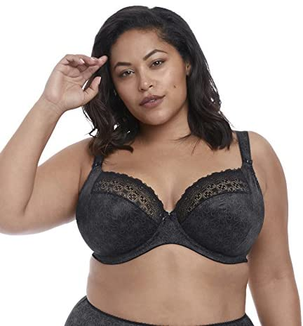 Elomi Carmen Bras Underwire Banded Plunge Bra 4010 Sand Ladies New Various Sizes