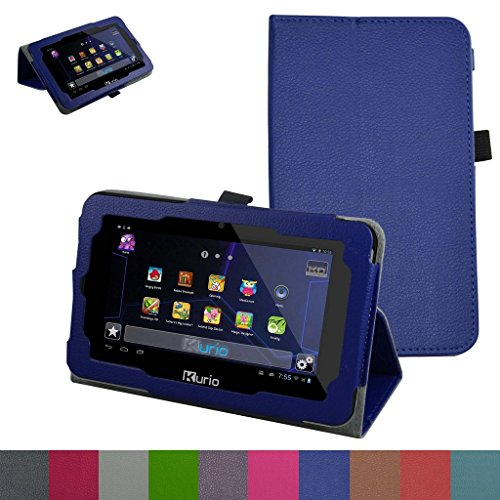 Kurio Xtreme 2 Case,Mama Mouth PU Leather Folio 2-folding Stand Cover for 7