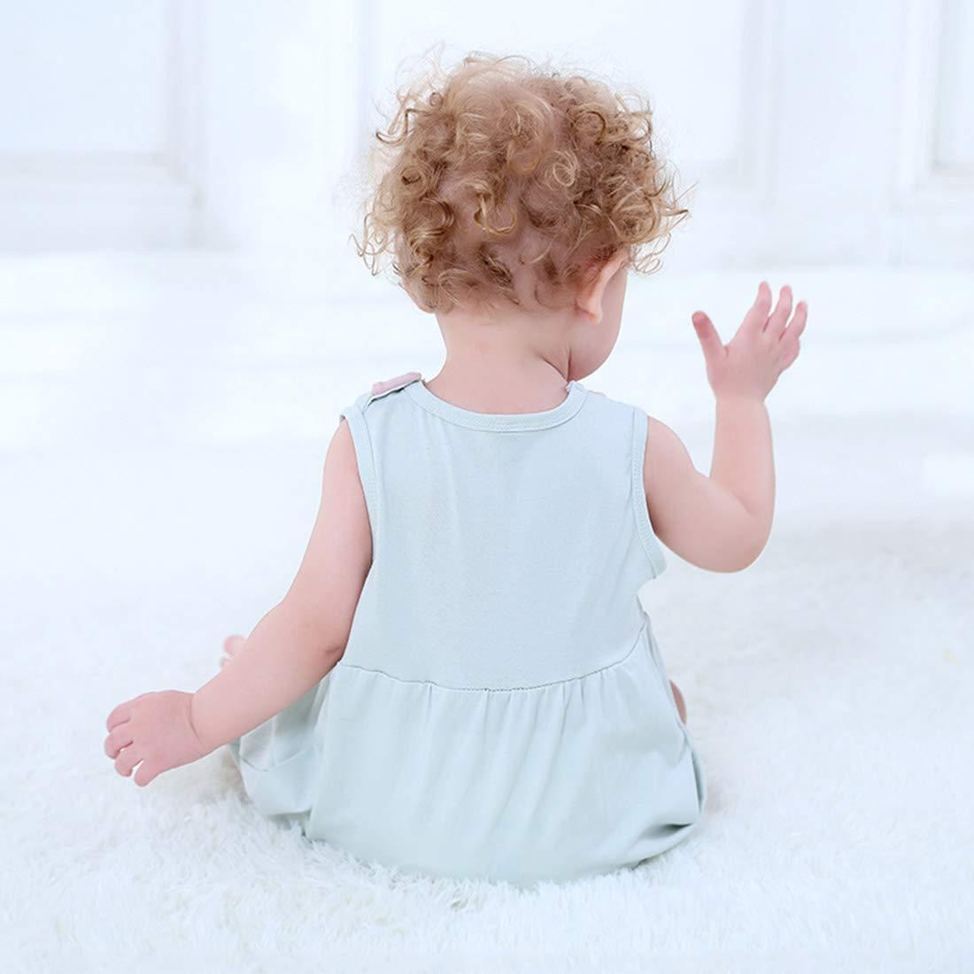 PAUBOLI Baby Fox Romper Newborn Cotton One Piece Pajamas 0-24 Months