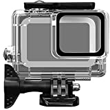 Acalantha GoPro Waterproof Case with Quick Release Mount and Thumbscrew for Up to 40 Meters (131 feet) Underwater Photography, Standard Replacement Protective Dive Housing Case for GoPro Hero 7