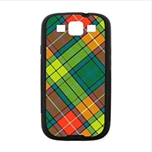 Best Custom Design Case,Colorful Scottish Tartan Plaid Pattern Samsung Galaxy S3 I9300 TPU (Laser Technology) Case, Cell Phone Cover wangjiang maoyi