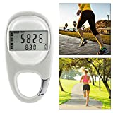 3D Pedometer with Clip, Hamkaw Portable Walking Step Counter for Men Women Kids