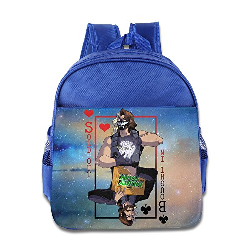 JXMD Custom Personalized Seth Rollins Teenager School Bagpack Bag For 1-6 Years Old RoyalBlue