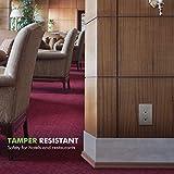 ENERLITES Elite Series Decorator Receptacle