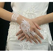 ewinever(TM) 20pcs White Henna Lace Wedding Elegant Temporary Flash Tattoo Inspired Bridal Jewellery Body Art Sexy Diy