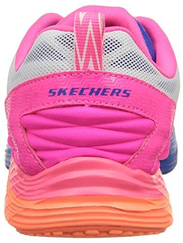Skechers Valeris- Front Page, Chaussures de Sport Femme Blanc (Blanc/Multi)