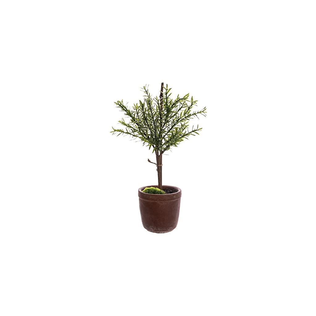 Artificial-Myrtle-Ball-Topiary-Tree-Green-Plastic-18-H