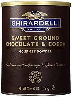 Chocolate Sweet Ground Chocolate & Cocoa Beverage Mix by Ghirardelli