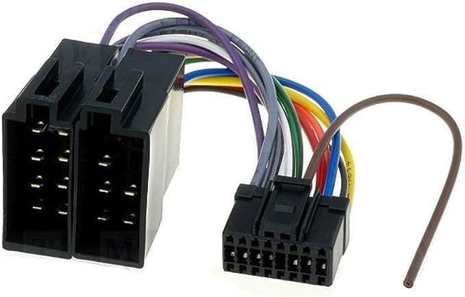 [GJFJ_338]  Amazon.com: DEH-P Pioneer 16 Pin to ISO Lead Wiring Loom Power Adaptor Wire  Radio Connector: Automotive | Wiring Diagram Pioneer Deh 6100 Installation |  | Amazon.com