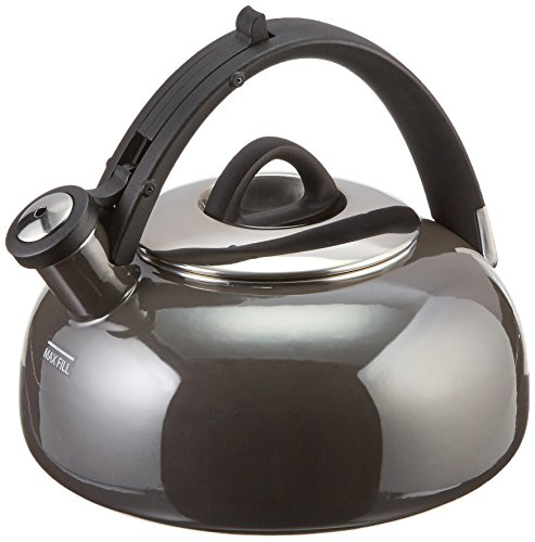 Cuisinart CTK-EOS2GG Peak Tea Kettle, 2 quart, Graphite Gray