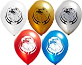 Eagle Balloons | Colorful Latex Balloons (20-Count) Happy Birthday Party or Event Use | Fill with Air or Helium | Kid-Friendly