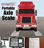 Digiweigh 30000Lb Truck Axle Scale with Ramps (DWP-30KAXLE)