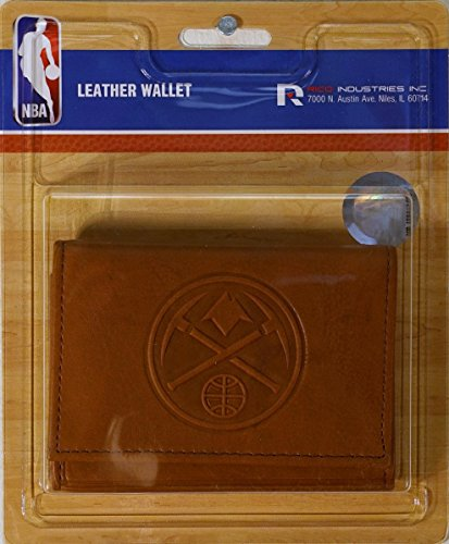 Rico Denver Nuggets NBA Embossed Leather Trifold ()