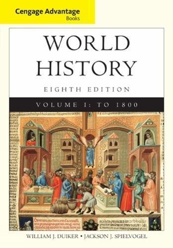 World History,V.I Cengage Advantage