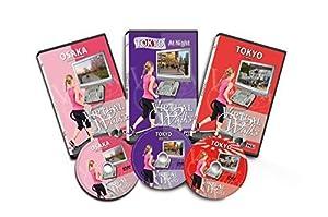 3 DVD Set - Virtuelle Spaziergänge - Osaka - Tokio Japan bei Nacht - Tokio Japan