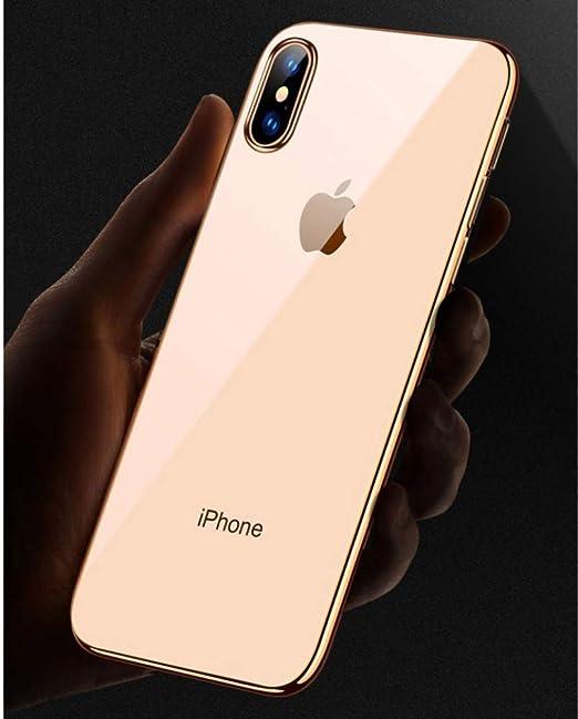LIUQIAN Caja de teléfono móvil Aplicable iPhone XS MAX Caja del ...
