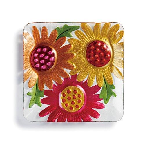 (DEMDACO Gerber Daisies Square Plate-11 sq)