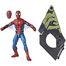 Marvel Legends Spider-Man Homecoming Movie Spider-Man Action Figure (Build Vulture's Flight Gear), 6 Inches