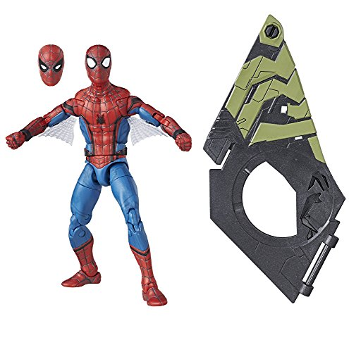 Marvel Legends Spider-Man Homecoming Movie Spider-Man Action Figure (Build Vulture's Flight Gear), 6 Inches ()
