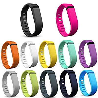 Austrake 12Pcs Replacement Bands for Fitbit Flex Wristband
