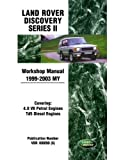 Land Rover Discovery Series 2 Workshop Manual 1999-2003 MY (Land Rover Workshop Manuals) by Brooklands Books Ltd (2010-03-31)