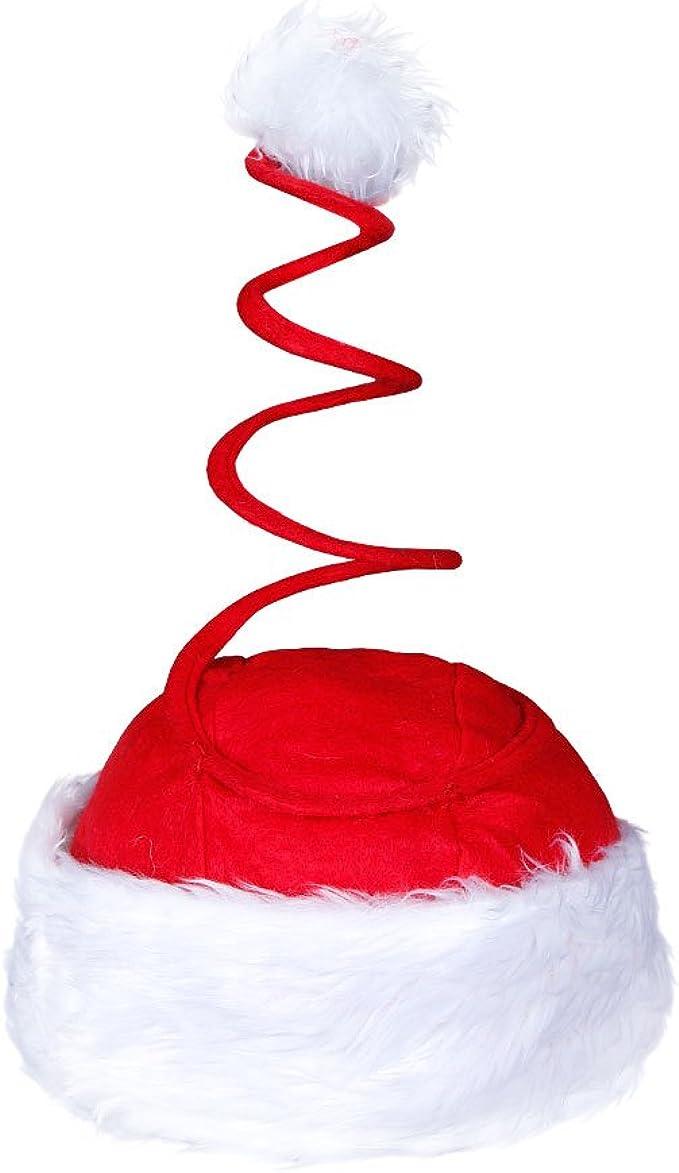 Babbo Natale Cappello Con Pompon BLU BABBO NATALE CAPPELLO BABBO NATALE 11926