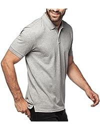 "<span class=""a-offscreen"">[Sponsored]</span>Men's Polo 100% COTTON Classic Fit Pique Mesh Short Sleeve Original Shirt M19"