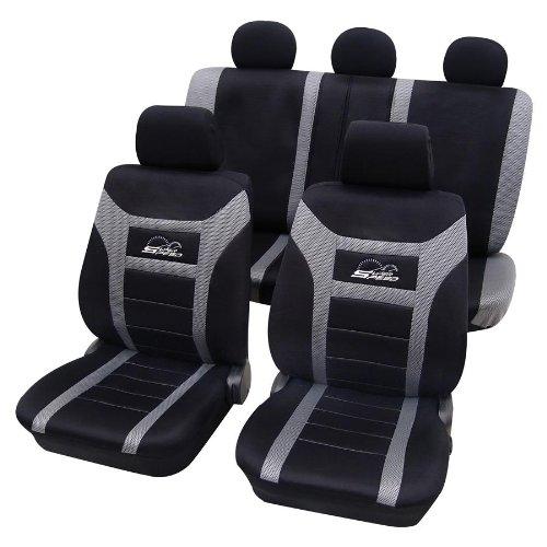 CDSuper03 Eco Class Sitzbezug Silber grau Schonbez/üge Schonbezug Autoschonbezug Sitzbez/üge