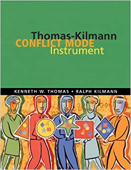 thomas kilmann conflict mode Conflict causes negativity in the workplace, but can be used for initiating change and improving communication the thomas-kilmann conflict mode instrument (tki) is used by individuals and professionals to learn about how different conflict-handling styles affect personal and group dynamics the tki.