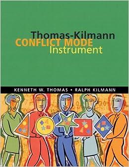 Thomas-Kilmann conflict mode instrument: Kenneth Wayne