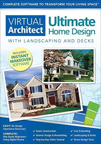 Virtual Architect Ultimate Home Design with Landscaping and Decks 8.0 [Download]