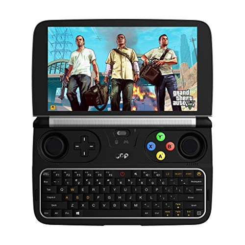 Redgiants 2019 New GPD Win 2 - Mini Gaming Handheld Console Windows 10 Intel m3 2.6Ghz 256GB HD Graphics RAM EU Portable Video Game Player Laptop,1280x720,Gorilla Glass 4