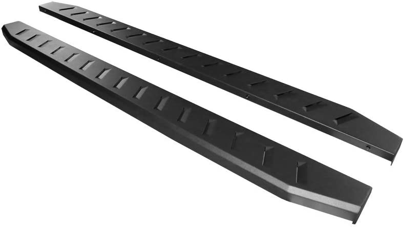 2019 Classic 6 Dodge Running Boards Side Steps Nerf Bars for 2009-2018 ram 1500 Crew Cab; 2010-2019 Dodge Ram 2500 3500 4500 5500 Crew Cab