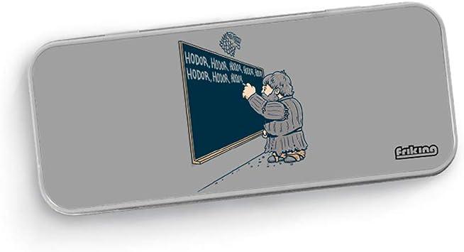 Gaamers Estuche Escolar metálico The Winter Board - Estuche Divertido para el Colegio: Amazon.es: Juguetes y juegos