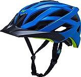 Kali Protectives Lunati Helmet Solid Matte Blue/Green, L/XL For Sale