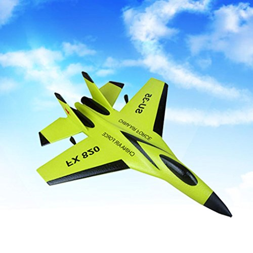 GOODCULLER Newest Professional High-qualified SU-35 RC Remote Control Helicopter Plane Glider Airplane EPP Foam 3.5CH 2.4G Toys