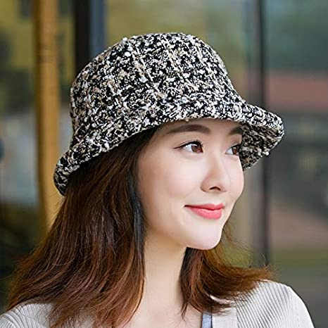 8ebbd7460cca8 Amazon.com  LIUXINDA-MZ Knit hat Ladies Fashion Elegant Korean Casual Wild  Cap