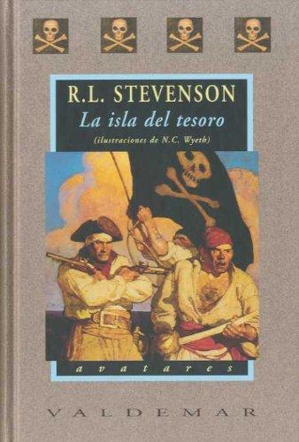 La isla del tesoro: Con ilustraciones a color de N.C. Wyeth ...