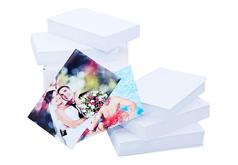Premium Glossy Photo Paper 4x6, 500 Sheets (Economy Pack), 9.5mil, 230gsm