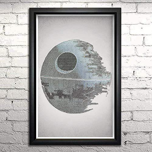 Return of the Jedi word art print 11x17