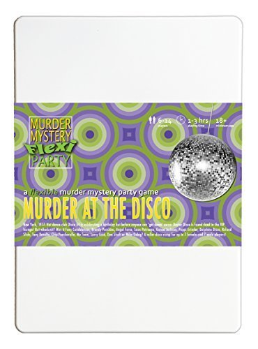 Murder Mystery Flexi Party Murder at The Disco 6-14 ()
