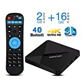 4K Android TV Box , DOLAMEE D5 Quad-core 2GB RAM 16GB ROM 2.4G WIFI Media Player Support Bluetooth 4.0